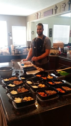 Meal Prep w Daniel